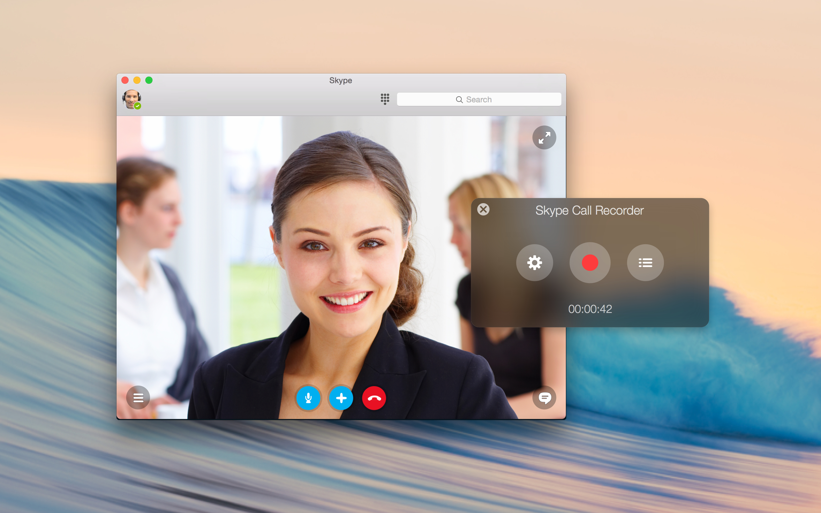 Piezo ltd releases skype call recorder 110 for os x prmac screenshot 1 ccuart Choice Image